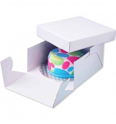 Round Cake Card and Cake Box 8in PME