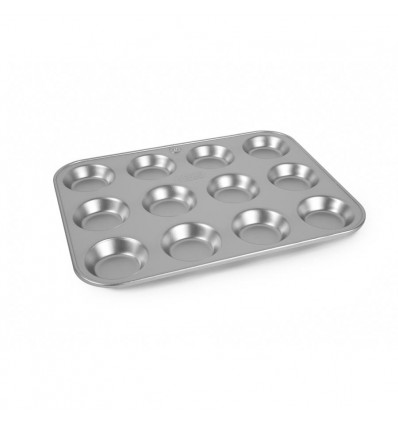 "Silverwood 12 Hole Tart Trays 12"" x 9"""