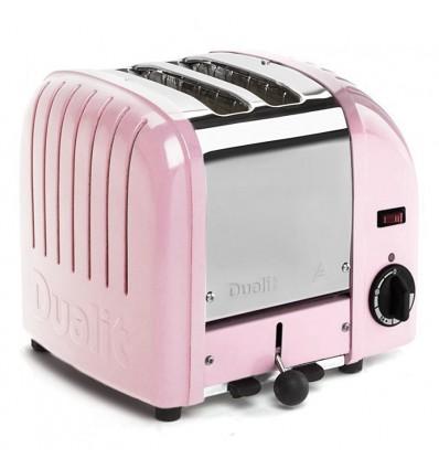 Dualit Vario 2 Slice Toaster Petal Pink