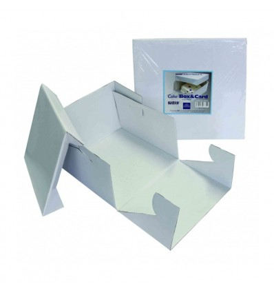 Square Cake Card and Cake Box 10in PME