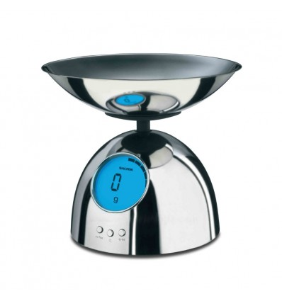 Electronic Kitchen Scale With Animated Blue display by Salter