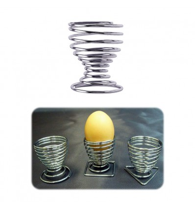 Wire Egg Cup Round Base