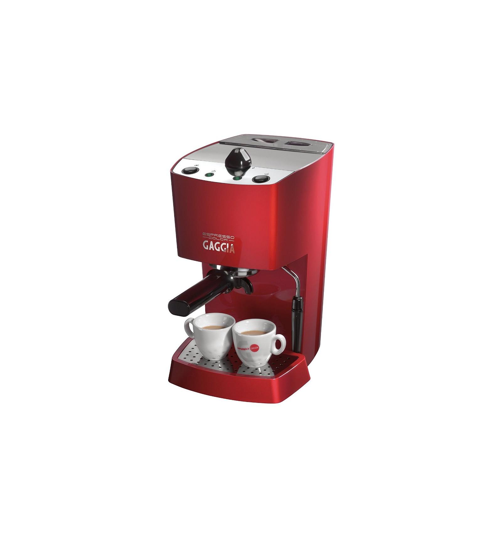 Gaggia 74841 Espresso Coffee Maker Deep Red : Gaggia Espresso Color