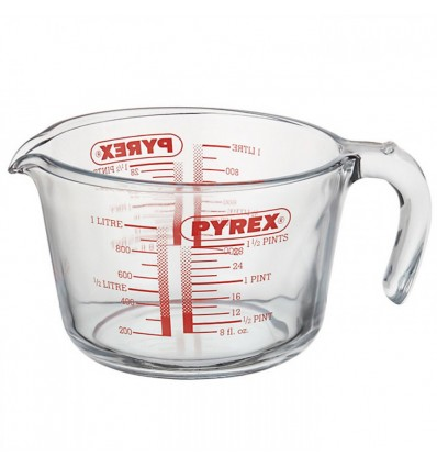 Pyrex 1 Litre Glass Measuring Jug