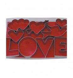 LOVE Cookie Cutter Set